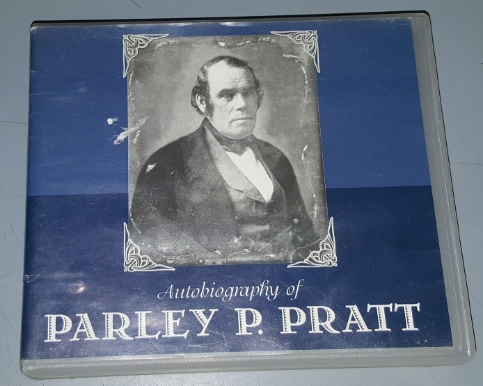 Image for AUTOBIOGRAPHY OF PARLEY PARKER PRATT - (12 CDS) - Complete Book on Audio CD