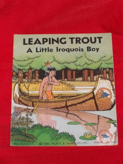 Image for LEAPING TROUT A LITTLE IROQUOIS BOY - 3300C