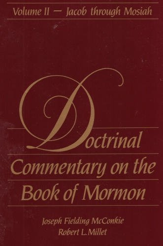 Image for Doctrinal Commentary on the Book of Mormon - Vol 2 -  Jacob through Mosiah