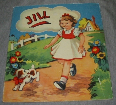 Image for JILL - NOVELTY MECHANICAL DOLL BOOK