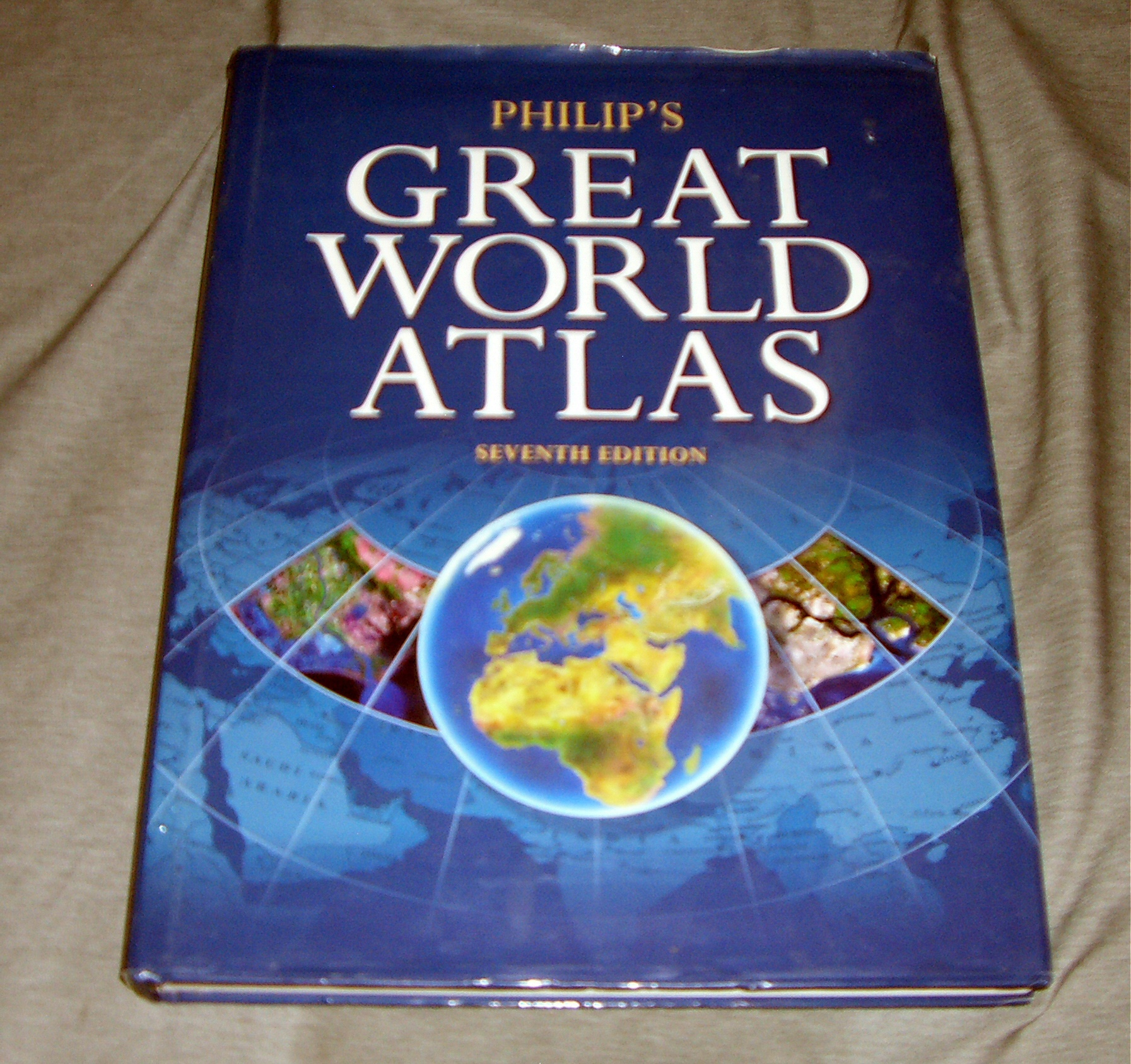 Image for PHILIP'S GREAT WORLD ATLAS