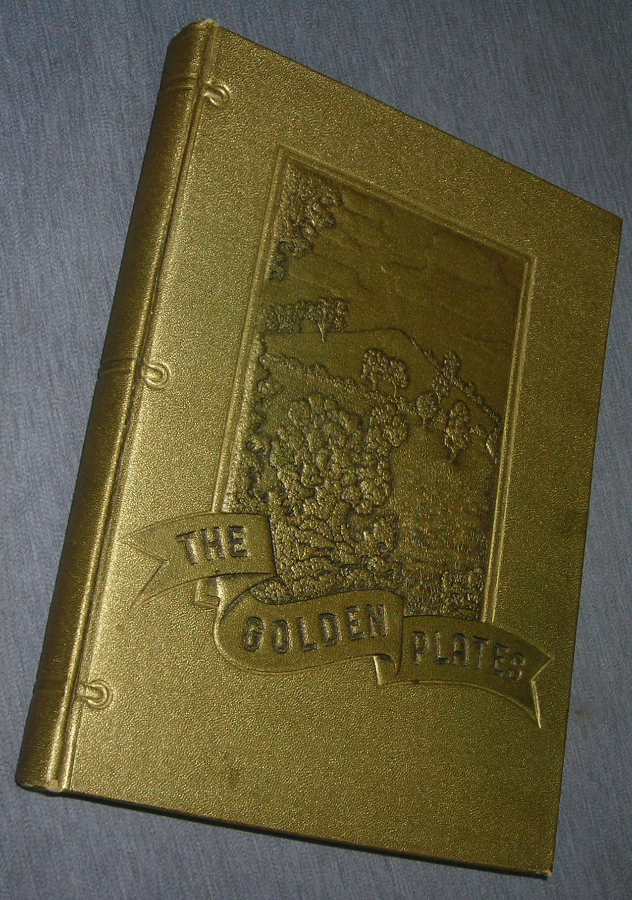 Image for THE GOLDEN PLATES