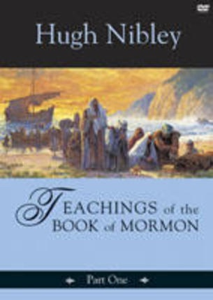 Image for Teachings of the Book of Mormon - Part 1 (On 3 Dvds) - Nephi 1- Mosiah 5