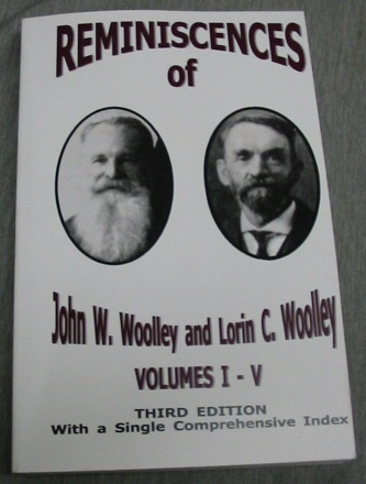 Image for Reminiscences of John and Lorin Woolley - Volumes I-V