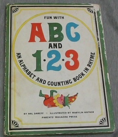 Image for FUN WITH ABC AND 123 - An Alphabet and Counting Book in Rhyme