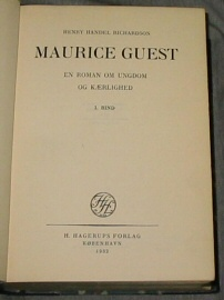 Image for Maurice Guest - A Novel - This Book is in Dutch.