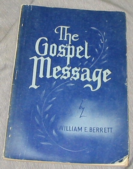 Image for THE GOSPEL MESSAGE
