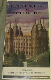 Image for TEMPLE SQUARE IN SALT LAKE CITY