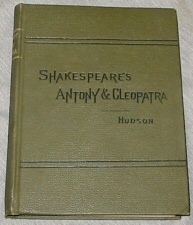 Image for SHAKESPEARE'S ANTONY AND CLEOPATRA