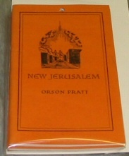 Image for NEW JERUSALEM OR THE FULFILMENT OF MODERN PROPHECY