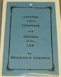 Image for DEFENSE BEFORE CONGRESS AND DEFIERS OF THE LAW