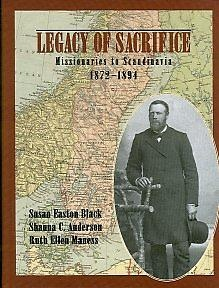 Image for LEGACY OF SACRIFICE - Missionaries to Scandinavia, 1872-94