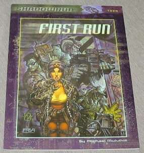 Image for FIRST RUN