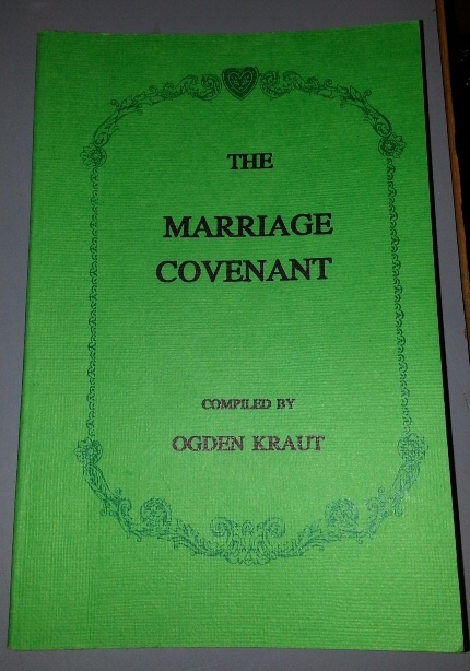 Image for THE MARRIAGE Covenant