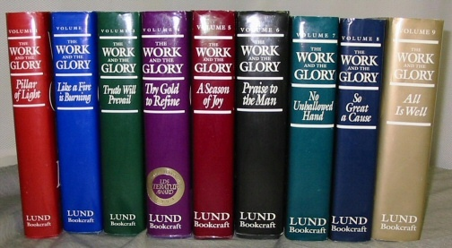 Image for THE WORK AND THE GLORY - VOLS 1 - 9 - Complete Set
