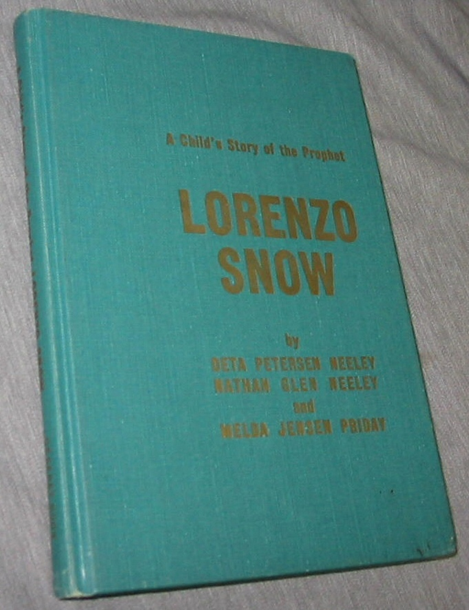 Image for A Child's Story of the Prophet Lorenzo Snow