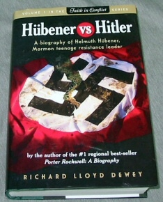 Image for HUBENER VS HITLER - A Biograph of Helmuth Hubener, Mormon Teenage Resistance Leader