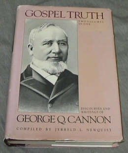 Image for GOSPEL TRUTH - 2 VOL SET Discources and Writings of President George Q. Cannon