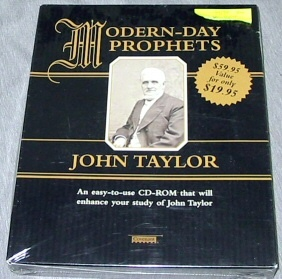 Image for MODERN DAY-PROPHETS JOHN TAYLOR (CD-ROM)