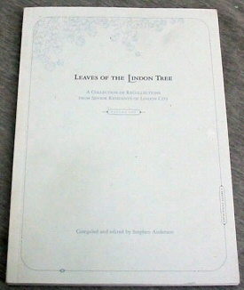 Image for LEAVES OF THE LINDON TREE - A Collection of Recollections from Senior Residents of Lindon City