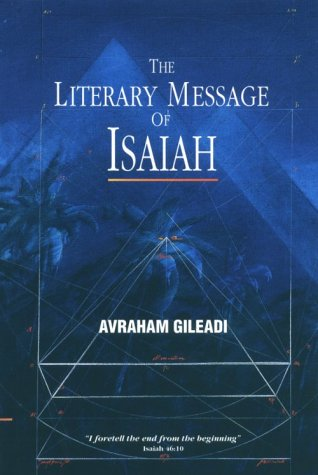 Image for THE LITERARY MESSAGE OF ISAIAH