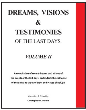 Image for DREAMS, VISIONS AND TESTIMONIES OF THE LAST DAYS - VOL 2 - A Compilation of Old and Recent Dreams and Visions of Many of the Events of the Last Days, Particularly of the United States