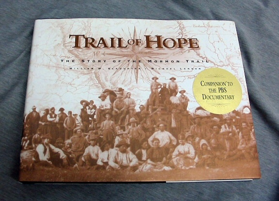 Image for TRAIL OF HOPE - The Story of the Mormon Trail
