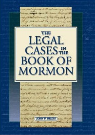 Image for The Legal Cases in the Book of Mormon