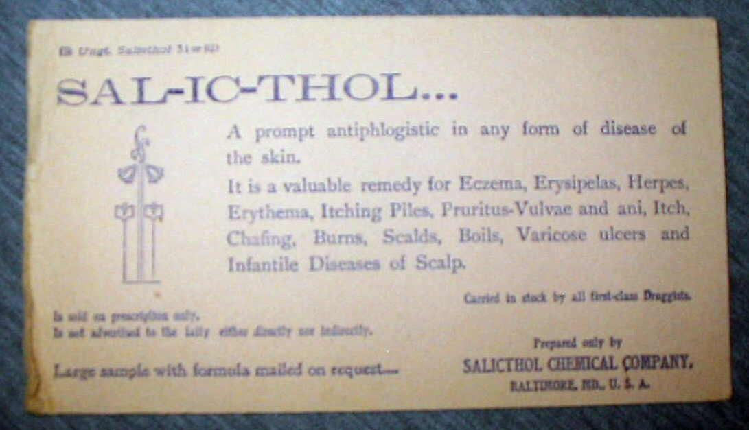 Image for Sal-Ic-Thol Ink Blotter