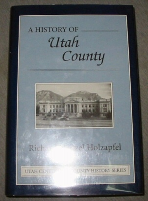 Image for A HISTORY OF UTAH COUNTY
