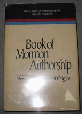 Image for Book of Mormon Authorship - New Light on Ancient Origins