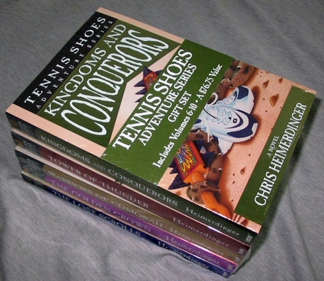 Image for Tennis Shoes Among the Nephites Adventure Series - (Vol 6 - 10) - Complete Books Vol 6-10