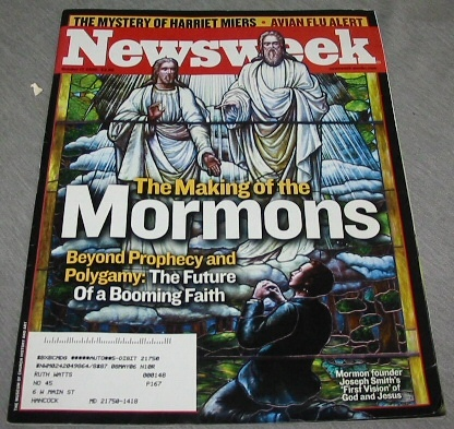 Image for NEWSWEEK Mormon Content - the Making of the Mormons