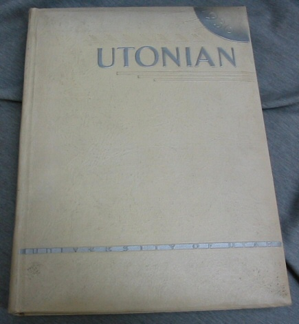 Image for The Utonian - 1936 - Univeristy of Utah Yearbook From the University of Utah, Salt Lake City