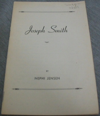 Image for Joseph Smith - An Oration