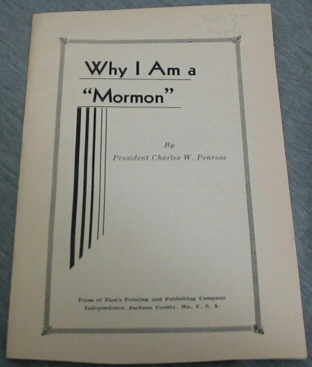 "Image for Why I Am a ""Mormon"""