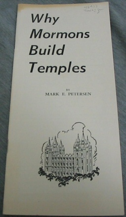 Image for Why Mormons Build Temples