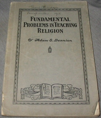 Image for Fundamental Problems in Teaching Religion