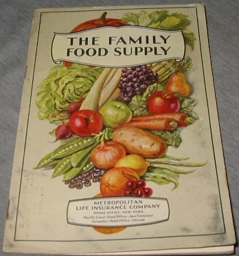 Image for The FAMILY Food Supply - What to Buy and Why. Food and Marketing Helps for the Homemaker