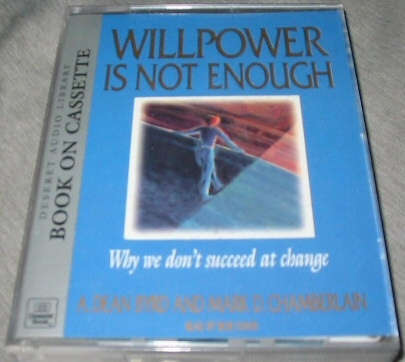 Image for WILLPOWER IS NOT ENOUGH -  Why We Don't Succeed at Change