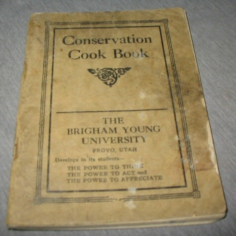 Image for Conservation Cook Book