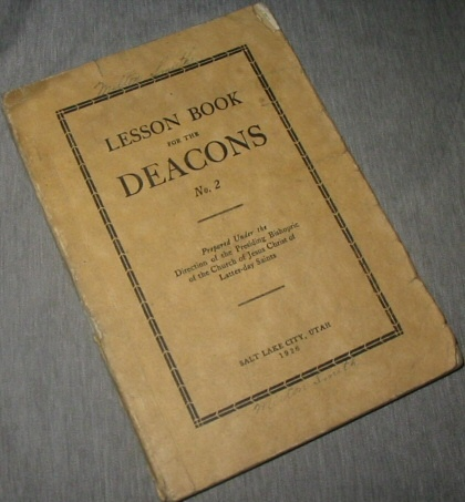 Image for Lesson Book for the Deacons