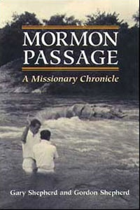 Image for Mormon Passage -  A MISSIONARY CHRONICLE