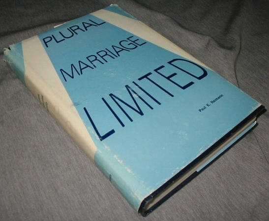 Image for Plural Marriage Limited