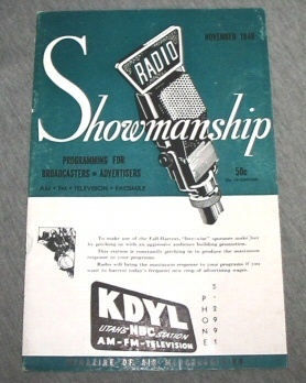 Image for Radio Showmanship - Programming for Broadcasters - Advertisers