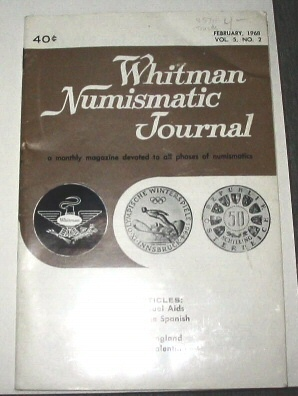 Image for THE Whitman Numismatic Journal