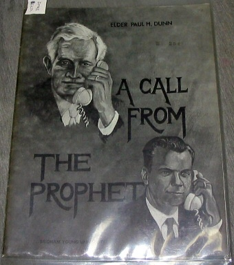 Image for A Call from the Prophet - An Address Given to the Brigham Young University Student Body