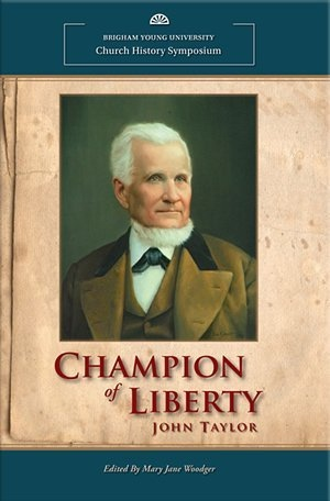 Image for Champion of Liberty - John Taylor John Taylor