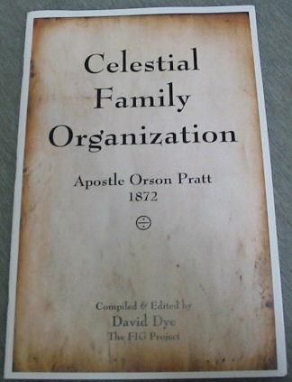 Image for Celestial Family Organization - Apostle Orson Pratt 1872