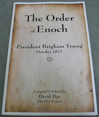 Image for The Order of Enoch - President Brigham Young October 1872